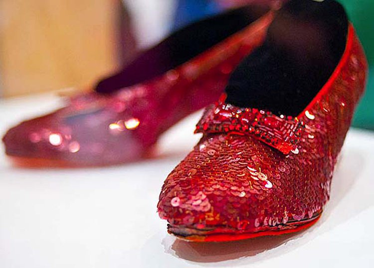 Genuine Ruby Slippers Scored by Teen Contest Winner in 1940 Are on Sale for $6 Million