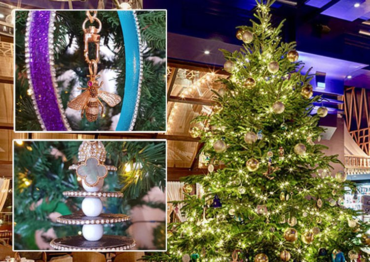 Spanish Hotel's $15MM Gem-Adorned Christmas Tree Is the Most Expensive in the World